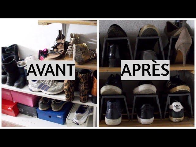 organisation chaussures astuces