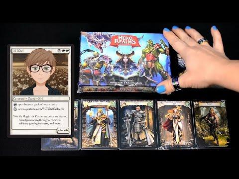 MTGirl: Hero Realms Game Unboxing