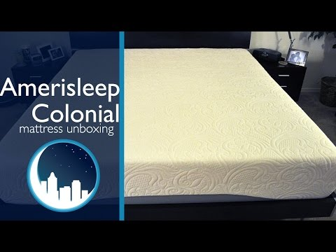 Amerisleep 2015 Colonial Mattress Unboxing
