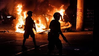 video: Protests engulf America in night of anger, lootings and violent clashes