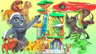 【Lion Guard】big Training Lair Play set- Drive snakes and dinosaurs -Disney