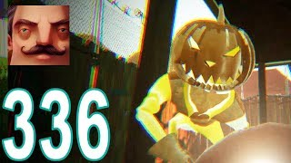 My New Neighbor Pumpkin Halloween BUGS Act 2 Hello Neighbor Gameplay Walkthrough Part 336
