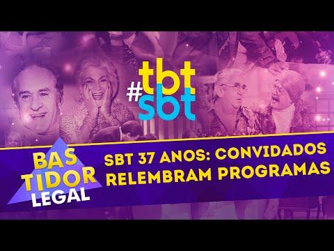 SBT 37 ANOS: convidados relembram programas! | Bastidor Legal (19/08/2018)
