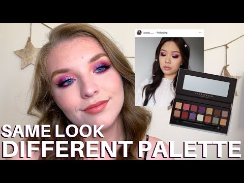 SAME LOOK DIFFERENT PALETTE: ABH X JACKIE AINA PALETTE thumbnail