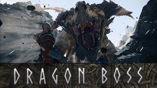 God of War - Terror Dragon Hraezlyr Boss Fight