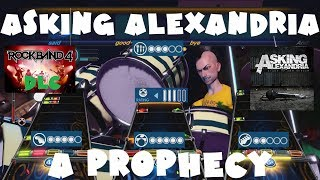 Asking Alexandria - A Prophecy - Rock Band 4 DLC Expert Full Band (June 7th, 2018)