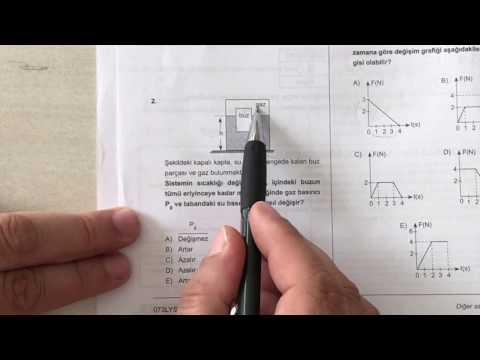 Lys fizik deneme sınavı 1   1.video
