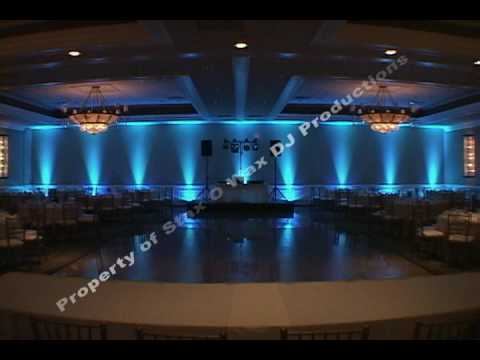LED Decor Lighting Uplighting For Chicago Area Weddings