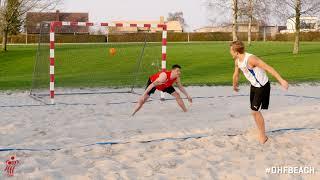 Beach handball: Scoringer og point