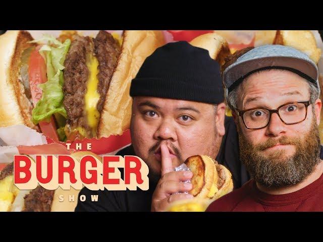 Seth Rogen Taste-Tests Secret Fast-Food Burgers   The Burger Show