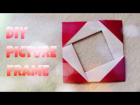 Origami Photo Frame Tutorial - Origami Easy