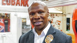Chris Eubank Sr EXCLUSIVE: I never thought Junior could lose to SAUNDERS & GROVES