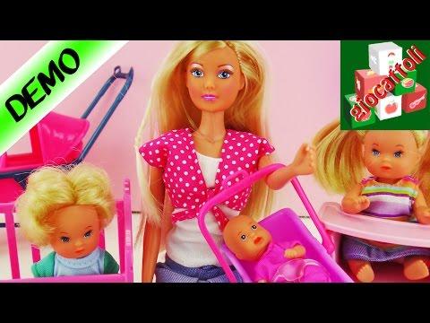 Steffi Love Baby World: Steffi e le sue tre bimbe a passeggio!