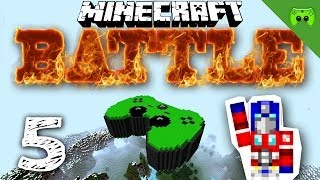 MINECRAFT BATTLE # 5 - Auf in den Kampf  «» Let