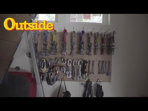 A Look Inside Tommy Caldwell's Gear Shed   Outside