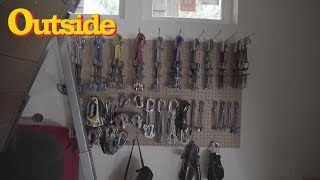 A Look Inside Tommy Caldwell's Gear Shed