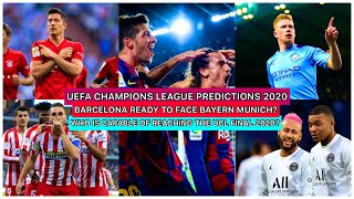 The champions league draw has been written and many teams will be at a advantage some may not. looking table, barcelona do not have easiest ro...