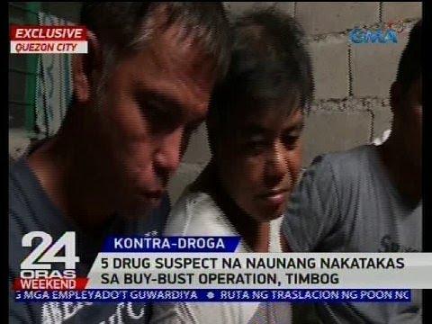 5 drug suspect na naunang nakatakas sa buy-bust operation, timbog