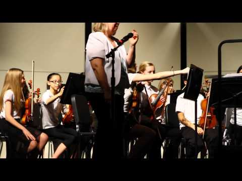 Kenyon Woods Middle School Orchestra Concert 03.09.2016