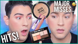 NEW MAYBELLINE MAKEUP TESTED! HITS AND MISSES | Manny MUA thumbnail