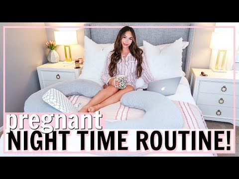 ULTIMATE PREGNANT NIGHT ROUTINE! | NIGHT TIME ROUTINE 2019 | Alexandra Beuter