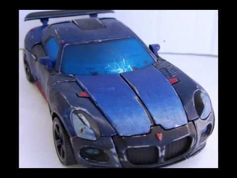 Custom Painted Transformers Pontiac Solstice Jazz By