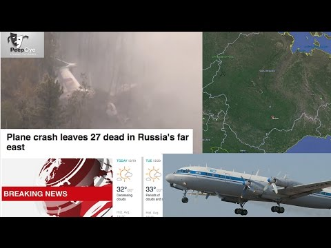 Russian Il-18 Plane With 39 on Board Crash-Lands in Siberia - Live Report & News Reaction