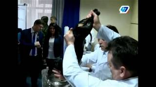 Cruel experiment on dog demonstrated by Russian scientists to Serbian president Vucic.
