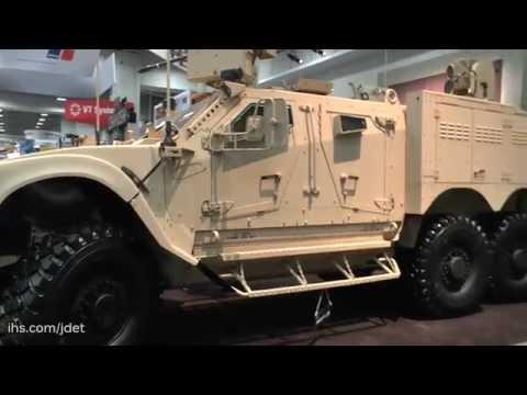 AUSA 2015 Oshkosh Defense on their M-ATV Technology Demonstrator