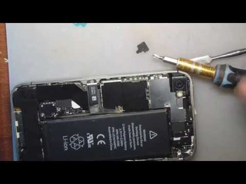 Iphone 4 замена динамика