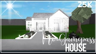 ROBLOX | Bloxburg : No-Gamepass House!