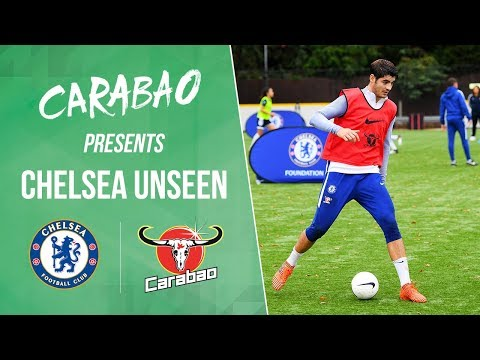 Morata's Unbelievable Skills, Freestyle Tekkers & First Team Megastore Signing | Chelsea Unseen