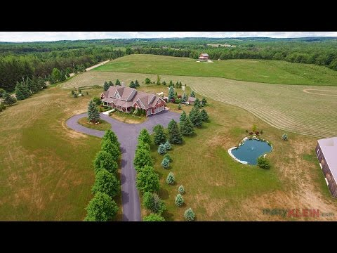 Caledon 3-Bedroom Bungaloft on 14.83 Acres w/ Pool, Pond, Workshop - Home For Sale