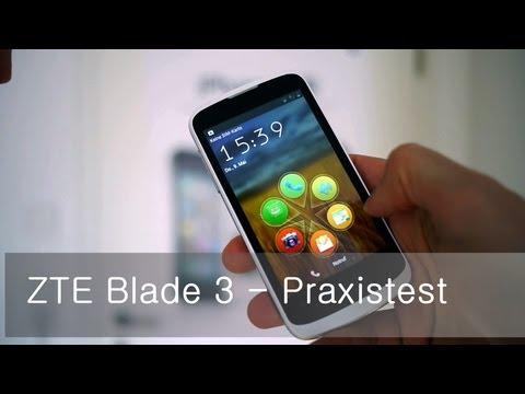 ZTE Blade 3 - Praxistest
