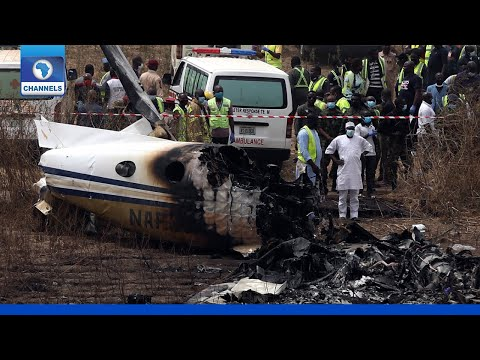 'Pilot Was Struggling', Eye Witness Narrates How Military Plane Crashed In Abuja