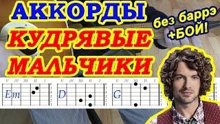 Кудрявые мальчики Аккорды 🎸 Алена Швец ♫ Разбор песни на гитаре ♪ Бой Текст