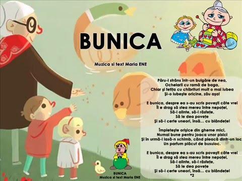 BUNICA – Cantece pentru copii in limba romana