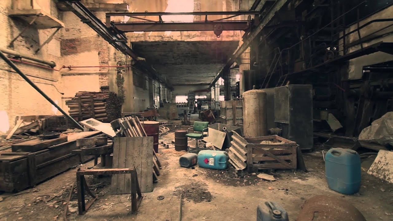 Lost Place - Alte Papierfabrik - Glidecam HD-2000 - YouTube