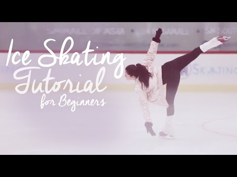 VernVerniece: Ice Skating Tutorial for Beginners