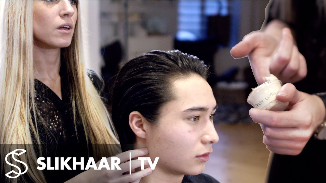 Medium Long Mens Hair Sleek Classic Hairstyle For Men YouTube - Classic british hairstyle