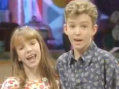 Britney Spears and Justin Timberlake Mickey Mouse Club ...