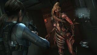 """Resident Evil Revelations Walkthrough - """"Rachael"""" Boss Fight {HD, PS3}"""
