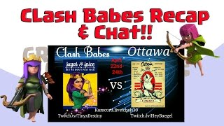 ❤️Clash Babes Chat & Recap❤️ Clash Babes Vs Ottawa Clash On GrootTV