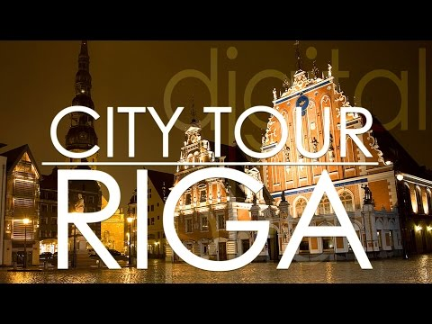 Riga City Tour in Latvia 🇱🇻