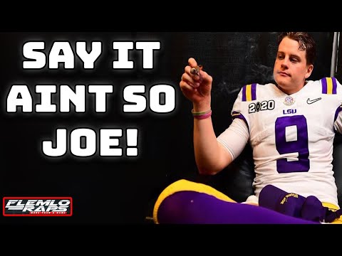 The Media Says Joe Burrow Should Pull An Eli Manning On MY Bengals??? My Thoughts...