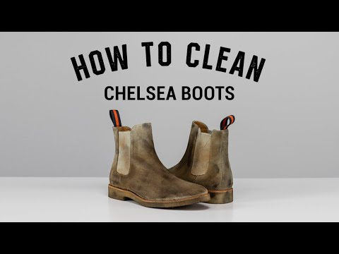 Keep Those Thanksgiving Kicks Looking Right — How To Clean Chelsea Boots W/ Mr. Reshoevn8r