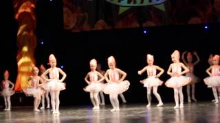 Маленькие балерины. Детский конкурс