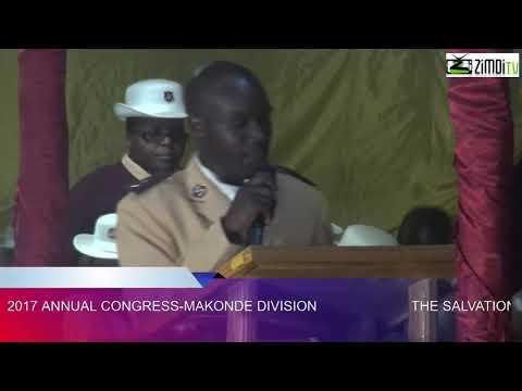 Salvation Army Makonde 2017 Congress