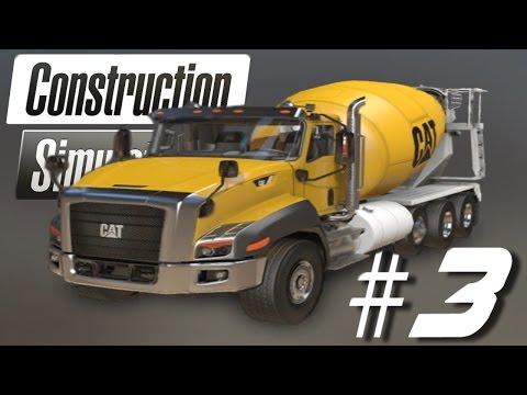 Construction Simulator 2 -  Concrete Mixing - HD 1080p LiveStream #3