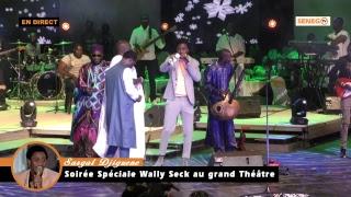 Spécial « Sargal Djiguene »: Revivez la soirée de Waly Seck au Grand Théâtre…